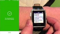 Pebble Android-Wear-Benachrichtigungen