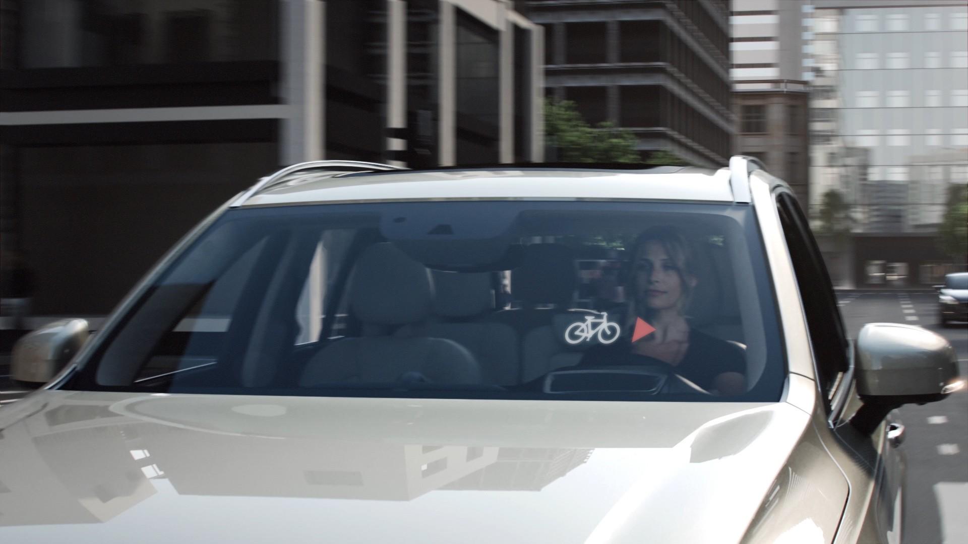 Volvo - Cloudbasiertes Radfahrerschutzsystem