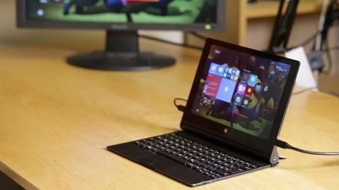 Lenovo Yoga Tablet 2 Mit Windows 8 1 Test Video Golem De