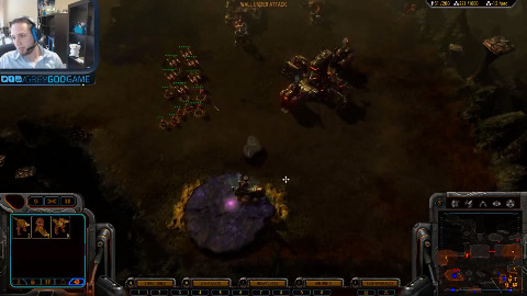 Grey Goo - Multiplayer Match mit allen Fraktionen