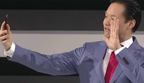 LG stellt das G Flex 2 vor (CES 2015)