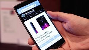 LG G Flex 2 - Hands on (CES 2015)