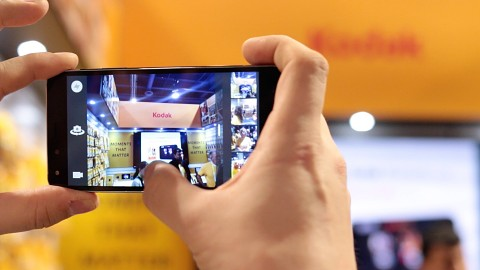 Kodak IM5 - Hands on (CES 2015)