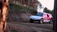 Elektroauto bei der Rallye Dakar