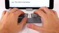 Textblade - die Tastatur zum Zusammenstecken