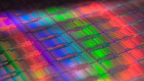 Intel-Chipfertigung (22 Nanometer mit FinFets)