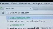 Whatsapp Webclient ausprobiert