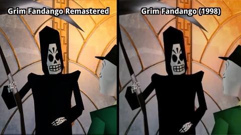 Grim Fandango Remastered im Grafikvergleich (Intro)