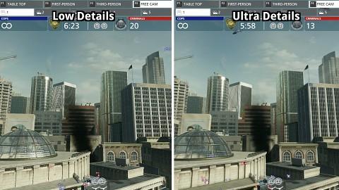 Battlefield Hardline - Grafikvergleich (low vs. ultra)