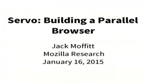 Servo - Der parallele Browser