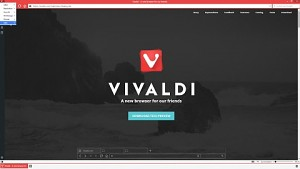 Vivaldi Browser Tech Preview 1