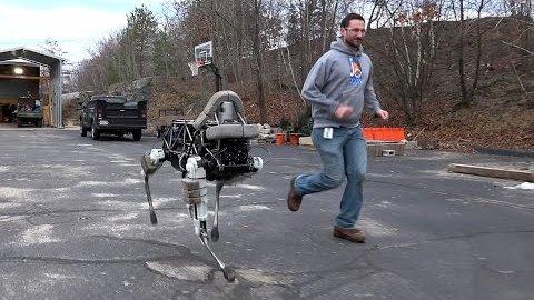 Roboter Spot - Boston Dynamics