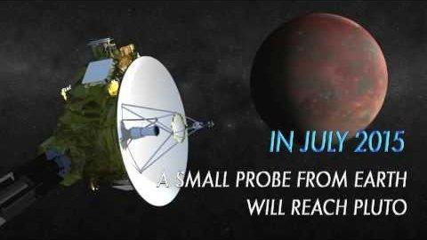 Raumsonde New Horizons erforscht Pluto - Nasa