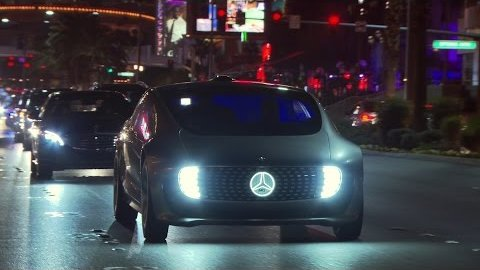 Mercedes Benz F 015 Luxury in Motion in Las Vegas
