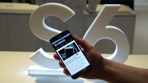 Samsung Galaxy S6 - kurzes Hands on (MWC 2015)