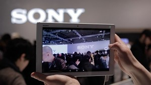 Sony Xperia Z4 Tablet - Hands on (MWC 2015)
