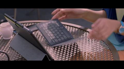 Microsoft Universal Foldable Keyboard - Trailer