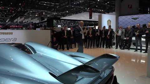 Präsentation des Regera - Koenigsegg