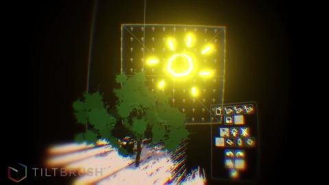 Tiltbrush (Malen in VR) - Trailer