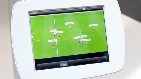 Fußballübertragungen in Eigenregie (Cebit 2015)