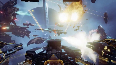 Eve Valkyrie - Trailer (Gameplay, Eve Fanfest 2015)