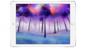 Pixelmator 1.1 - Aquarelltechnik auf dem iPad