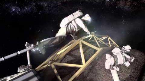 Bemannte Mission zum Mond-Mond - Nasa