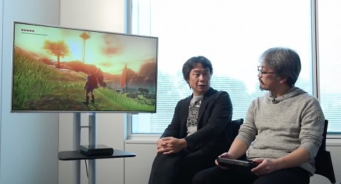The Legend of Zelda für Wii U - Trailer (Gameplay)