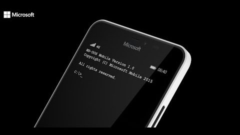 MS-DOS Mobile für Lumia-Smartphones - Trailer