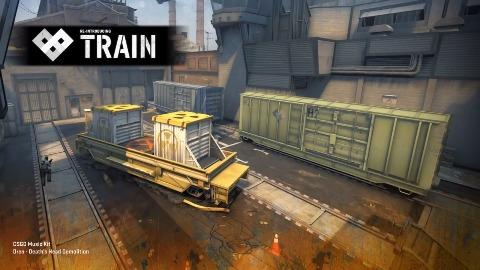 Valve zeigt überarbeitete Map Train für CSGO