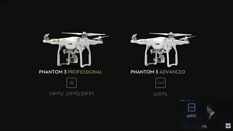 DJI Phantom 3 - Pressekonferenz