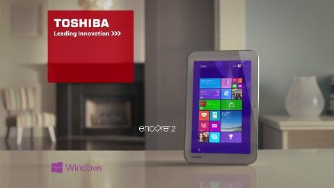 Toshiba Encore 2 Windows Tablet (Herstellervideo)