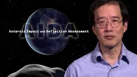Aida - Nasa und Esa schubsen Asteroiden