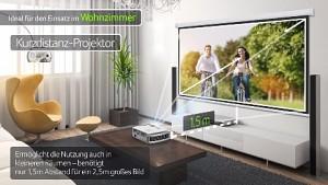 Acer H7550ST Full-HD-Projektor mit DTS - Trailer