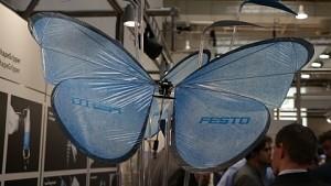 Emotion Butterflies auf der Hannover Messe - Festo