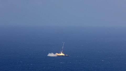 CRS-6-Landung fehlgeschlagen