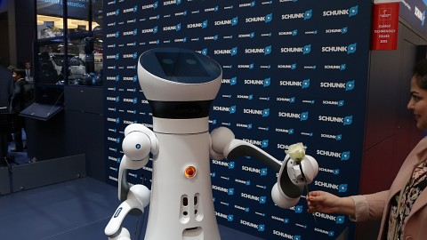 Care-O-bot 4 (Hannover Messe) - Fraunhofer IPA