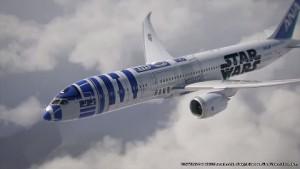B787-9 STAR WARS R2-D2 JET