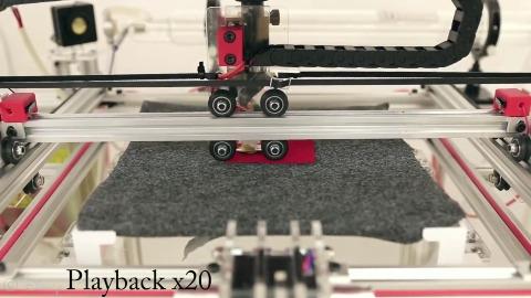 Disney Research zeigt 3D-Drucker für Stoffe