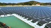 Schwimmendes Solarkraftwerk - Kyocera