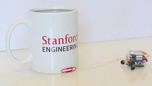 Micro-Tug zieht schwere Gewichte - Stanford