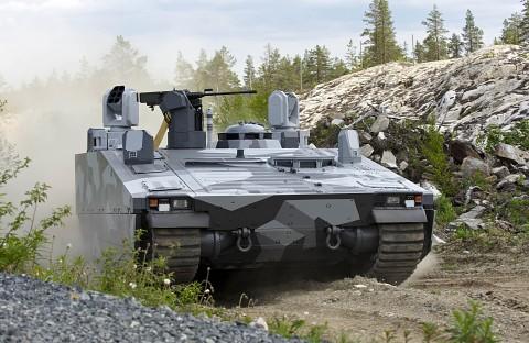 BAE CV 90 - Sprungtests (Herstellervideo)