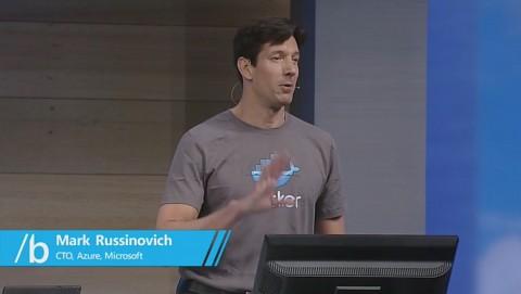 Russinovich zeigt Docker auf Windows und in Visual Studio
