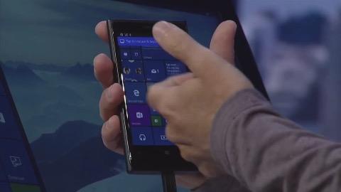 Konvergenter Desktop über das Smartphone (Simulation)