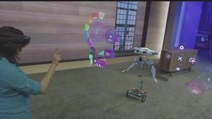 Microsoft zeigt Hololens-Roboter-Demo (Build 2015)
