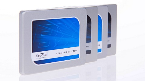 Crucial BX100 und MX200 angesehen
