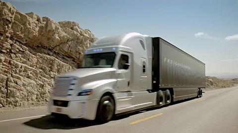 Erster lizenzierter autonomer Lkw in den USA