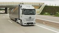 Lkw von Mercedes-Benz fährt autonom - Daimler