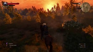 The Witcher 3 - Gameplay auf der Playstation 4