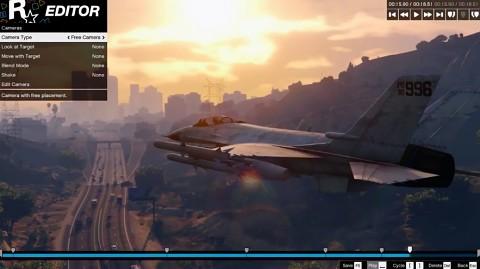 Rockstar-Video-Editor für GTA 5 - Trailer